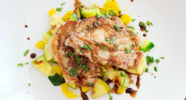 Easy Pork Chop Recipes- Balsamic Pork