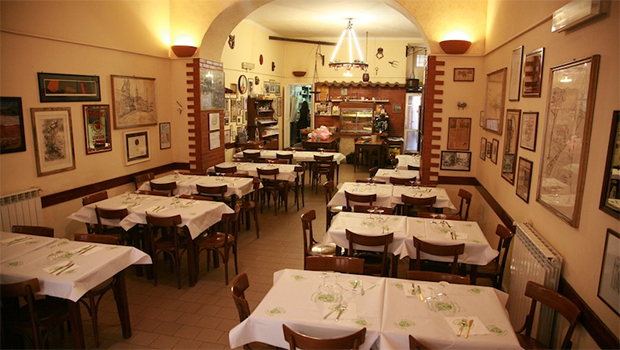 Coppa Enoteca Rome- a neighborhood restaurant in Rome that serves home style food and great wines.