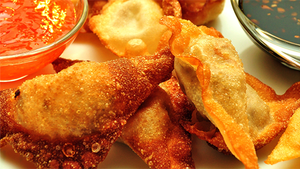 Easy Asian Appetizers - Chef Chu's Goat Cheese Wontons
