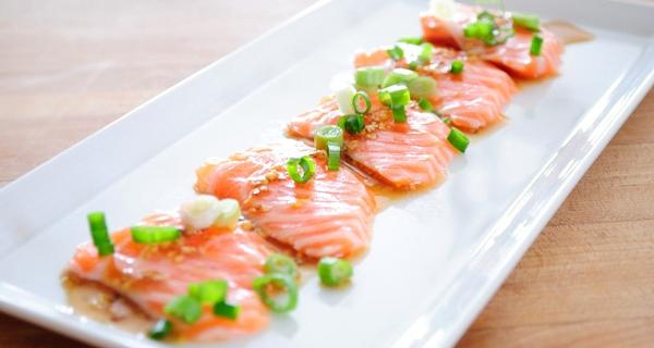 Salmon Carpaccio Recipe on Jspace Food