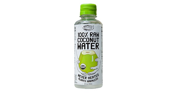 By far the best Coconut Water available other than hacking a fresh coconut- Harmless Harvest.
