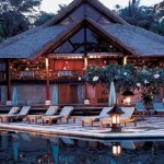 Amandari- always on a list of the best hotels in Bali, this luxury hotel has private villas with plunge pools and open air massages.
