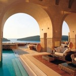 Blue Palace Hotel- long been one of the best hotels in Greece with spectacular views, gorgeous swimming pools and cozy luxury.