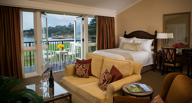 Pebble Beach Lodge Guest Suite