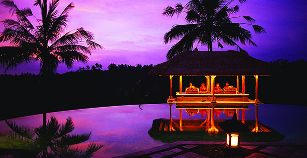 Amandari- a romantic getaway in the tropical island paradise of Bali.