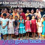 Namaste Yoga Award Gives Back To India's Children