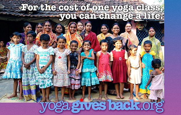 Namaste Yoga Award Gives Back To India's Children
