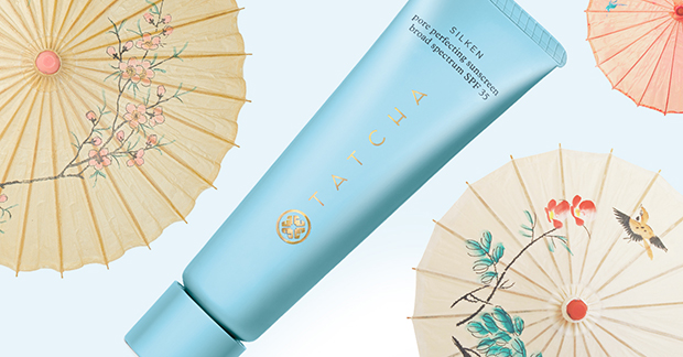 Tatcha Pore Perfecting Sunscreen- one of the best sunscreens on the market that pulls quadruple function as a sunscreen, moisturizer, bb cream and primer.
