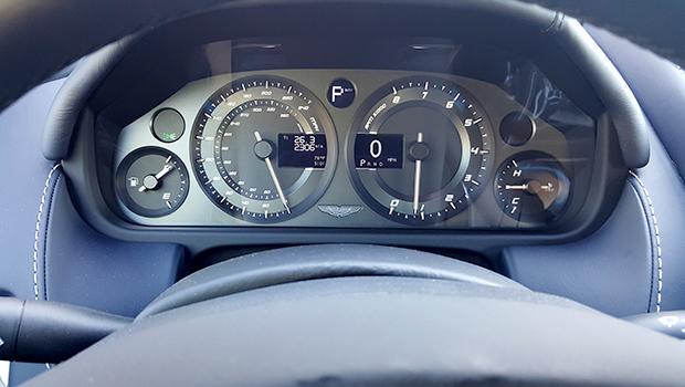 Aston Martin DB9 GT Volante Dashboard