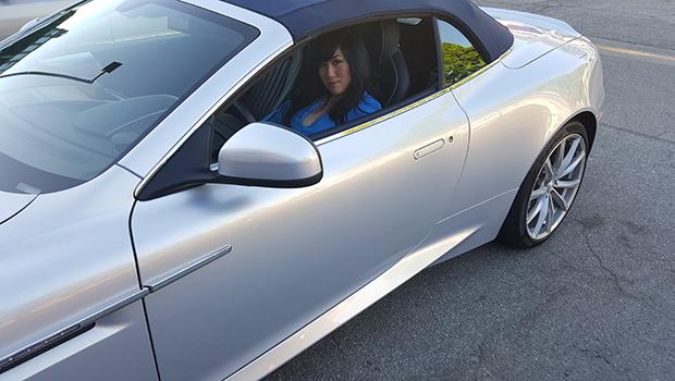 Aston Martin DB9 GT Volante- Dina Yuen