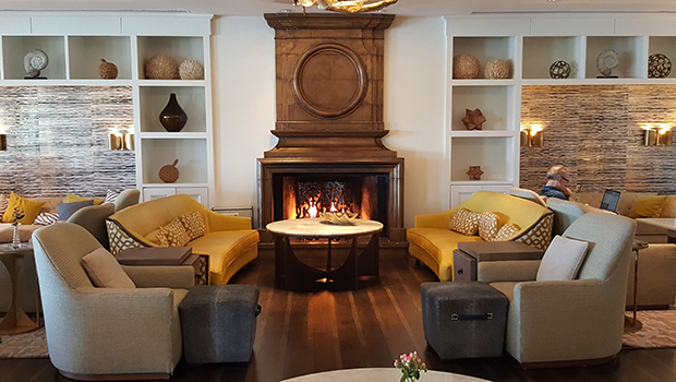 Ritz Carlton Marina Del Rey- Cast and Plow Fireplace