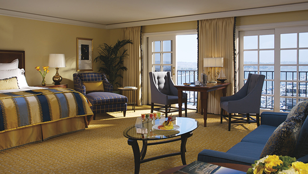 Ritz Carlton Marina Del Rey Room- best hotel in LA.