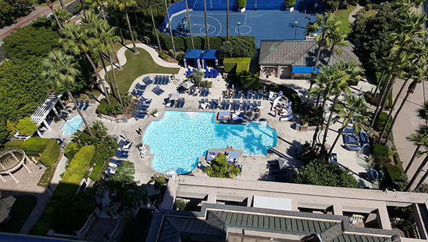 Ritz Carlton Marina Del Rey- Swimming Pool