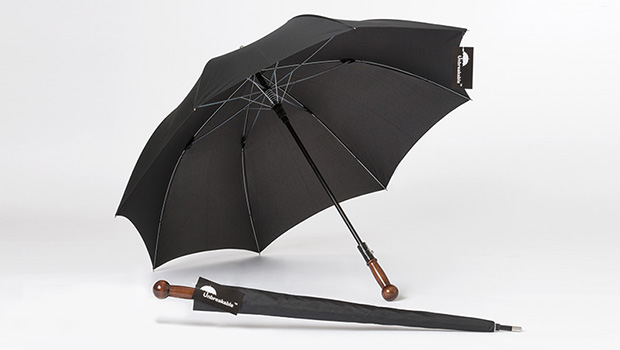 Unbreakable Umbrella- with a titanium core, this umbrella is used by Presidents and secret service agents, doubling as protector against rain and weapon.