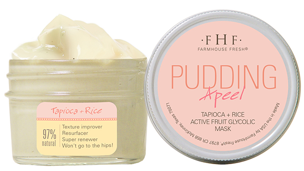 Farm House Fresh Pudding A Peel - a great at home Glycolic peel.