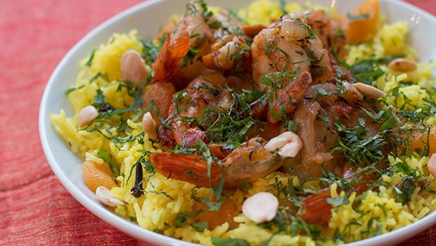 Mina Test Kitchen Review- The Company's Jhinga Pulao