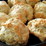 Buttery Herb Biscuits - An Easy Biscuit Recipe that results in moist, flavorful biscuits that will be the hit of your party.