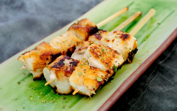 Light and Healthy Recipes- Citrus Fish Kabobs