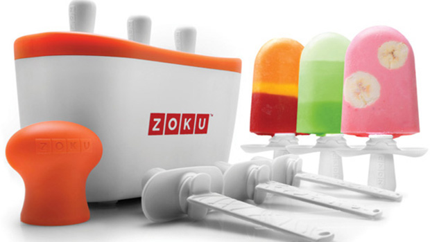 Fun, Healthy Summer Desserts with Zoku Popsicle Maker