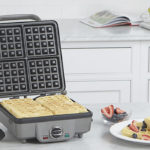 Cuisinart Waffle Maker- the best waffle maker that's also multifunctional and doubles as a panini press.