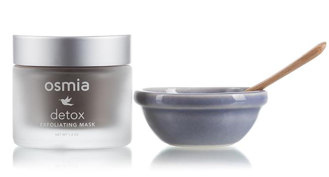 Osmia Detox Exfoliating Mask- best masks for oily combination skin