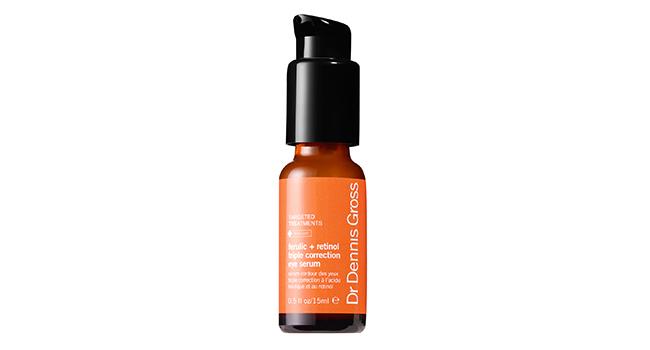 The Best Eye Serum for Smudge-free Makeup: Dr. Gross Ferulic + Retinol Triple Correction Eye Serum