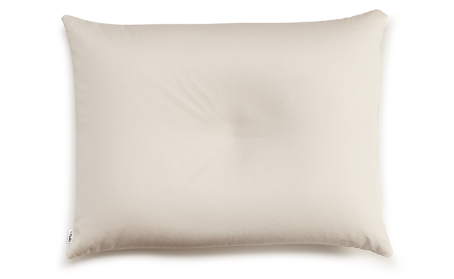 Hullo Buckwheat Pillows- the best pillow for side sleepers made from buckwheat husks.