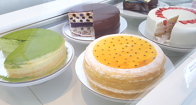 Lady M Confections- one of the best bakeries in America, also home to the best Matcha Mille Crepe stateside.