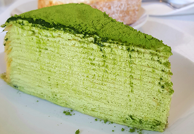 Lady M Confections is one of the best bakeries in America and home to the best Matcha Mille Crepe stateside.