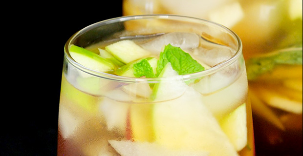 Cool Autumn Cocktails: Apple & Asian Pear Sangria