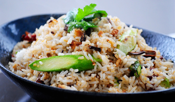 Easy Fall Recipe: Asparagus Rice