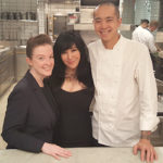 Dina Yuen and the Per Se New York team with Chef Corey Chow- still one of the best restaurants in the world.
