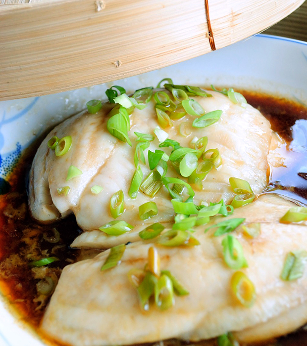 Easy and Quick Fish Recipe: Steamed Soy Tilapia